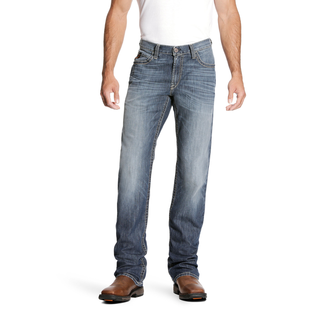 ARIAT® ARIAT WORK PANTS - M4 LOW RISE STRETCH DURALIGHT BOUNDARY BOOT CUT JEAN BRYCE