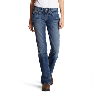ARIAT® ARIAT WOMEN - MID RISE DURASTRETCH ENTWINED