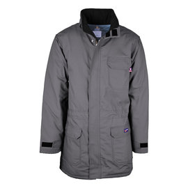 LAPCO® LAPCO WORK COAT - 8.5 OZ DUCK INSULATED PARKA W/WINDSHIELD