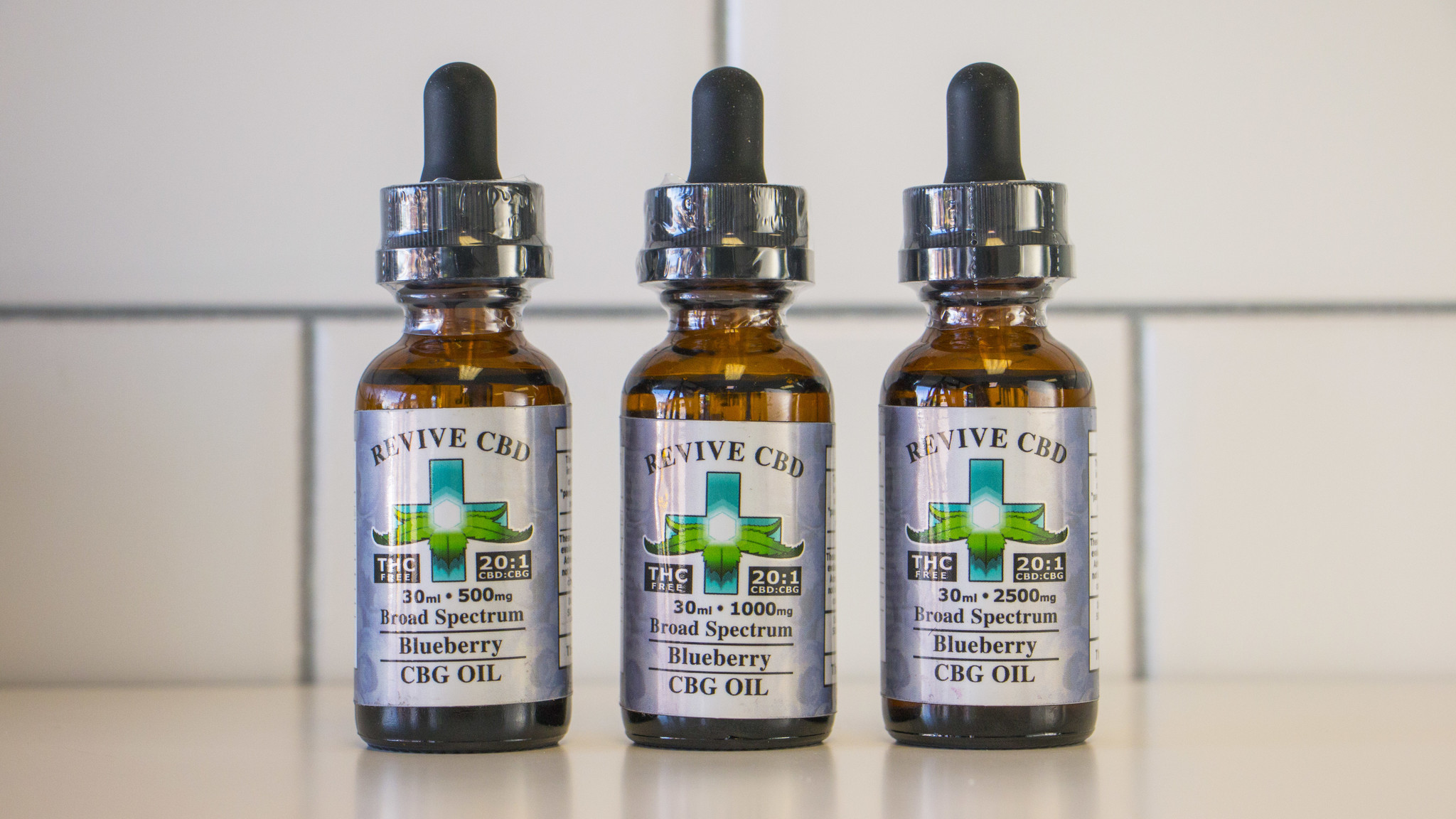 30mL CBG Oil (THC FREE/HIGH CBG) Blueberry