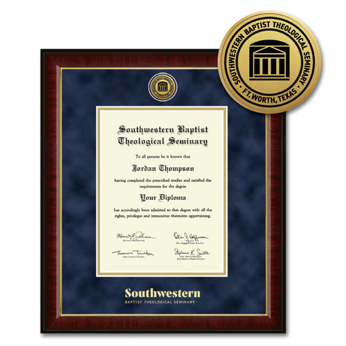 SWBTS Diploma Frame Murano