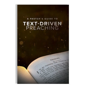 SEMINARY HILL PRESS A Pastor's Guide to Text-Driven Preaching