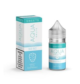 Aqua Salts  Blue Razz 30mL