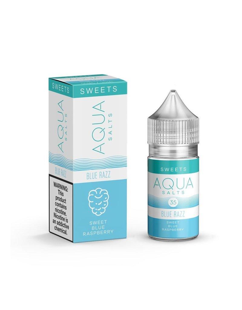 Aqua Salts  Blue Razz 30mL
