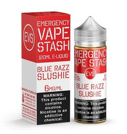 Emergency Vape Stash Blue Razz Slushie 120mL
