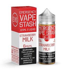 Emergency Vape Stash Strawberry Milk 120mL
