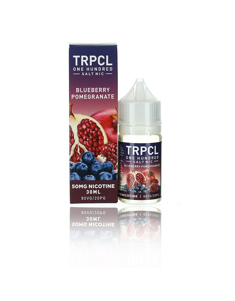 TRPCL One Hundred Salt  Blueberry Pomegranate 30mL