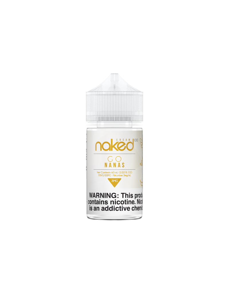 NAKED 100 Cream  Go Nanas 60mL