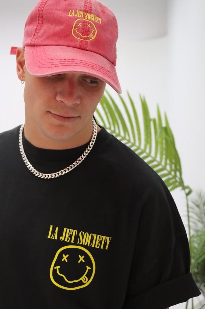 LA JET SOCIETY OVERSIZE TEE