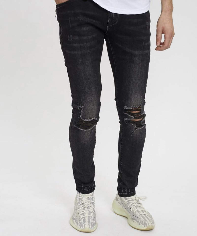 KUWALLA DESTROYED DENIM