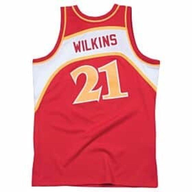 NBA HAWKS DWILKINS#21