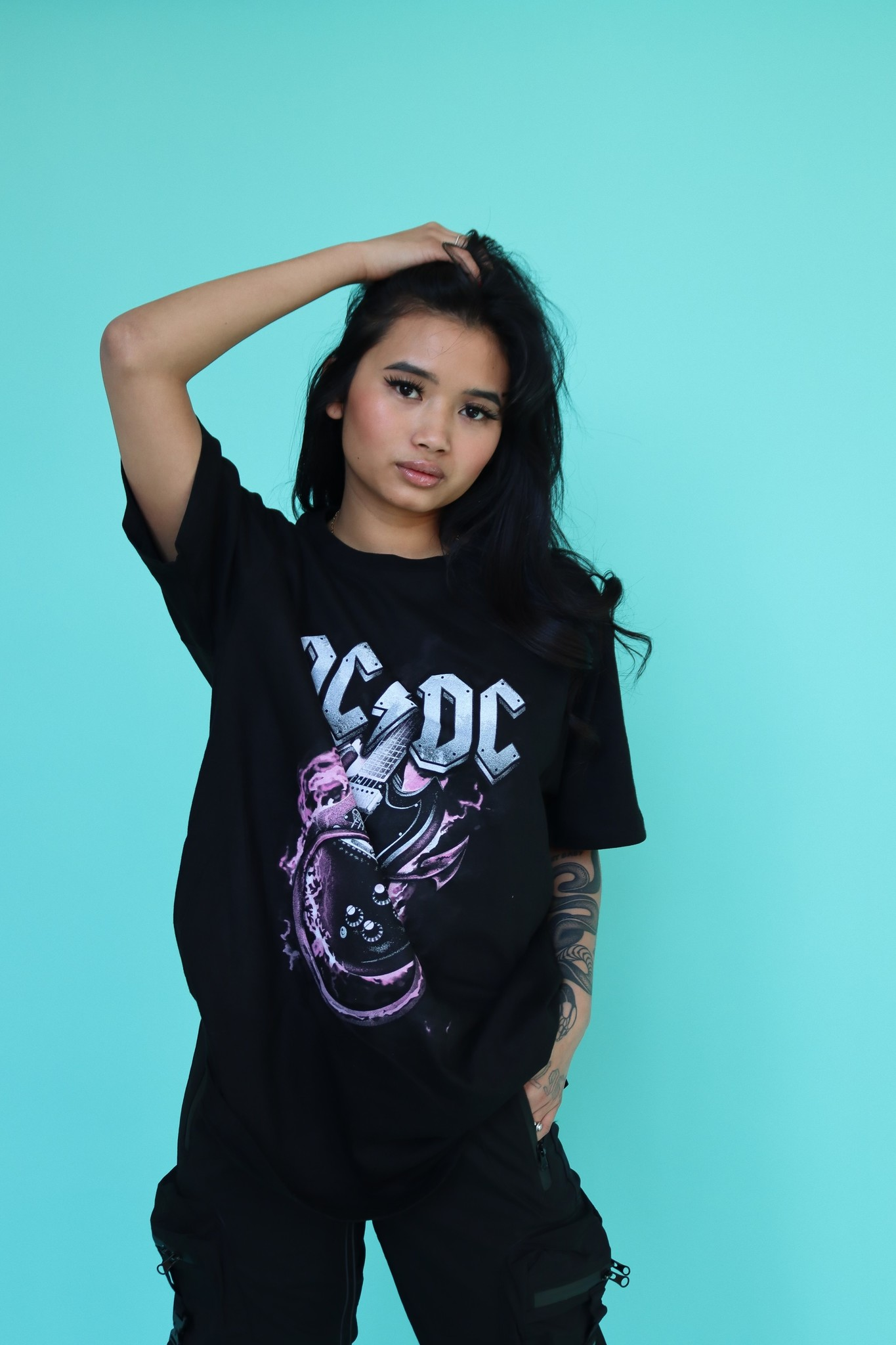 AC/DC PINK FLAMES