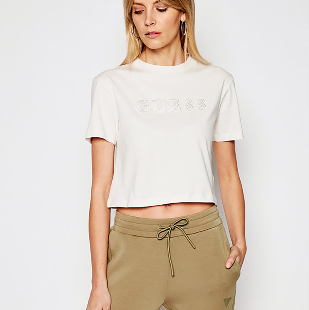 GUESS ECO ALEXIA CROPPED TEE