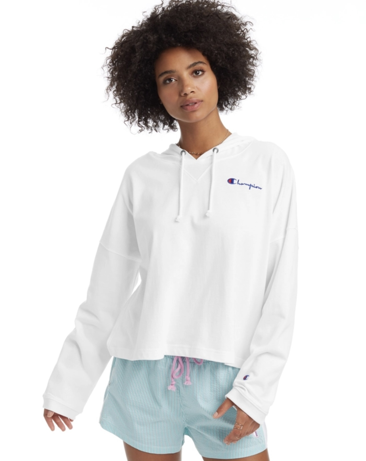 CHAMPION SUMMER SWEATS OVERSIZED HOODIE