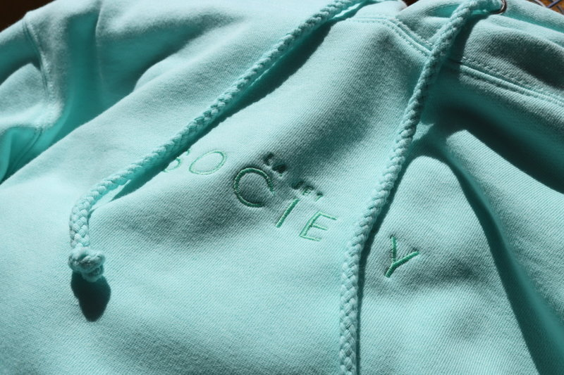 LA JET SOCIETY EMBROIDERED HOODIE