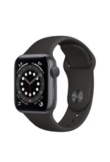 Apple WATCH SERIES 6 GPS - 40MM SPACE GRAY ALM CASE BLACK SPORT BAND