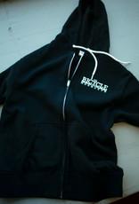 Shop Hoodie SM Zip Black TBSM