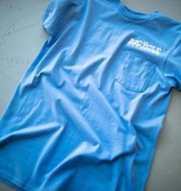 THE BICYCLE SHOP TBSM Shop Pocket T-Vintage Blue