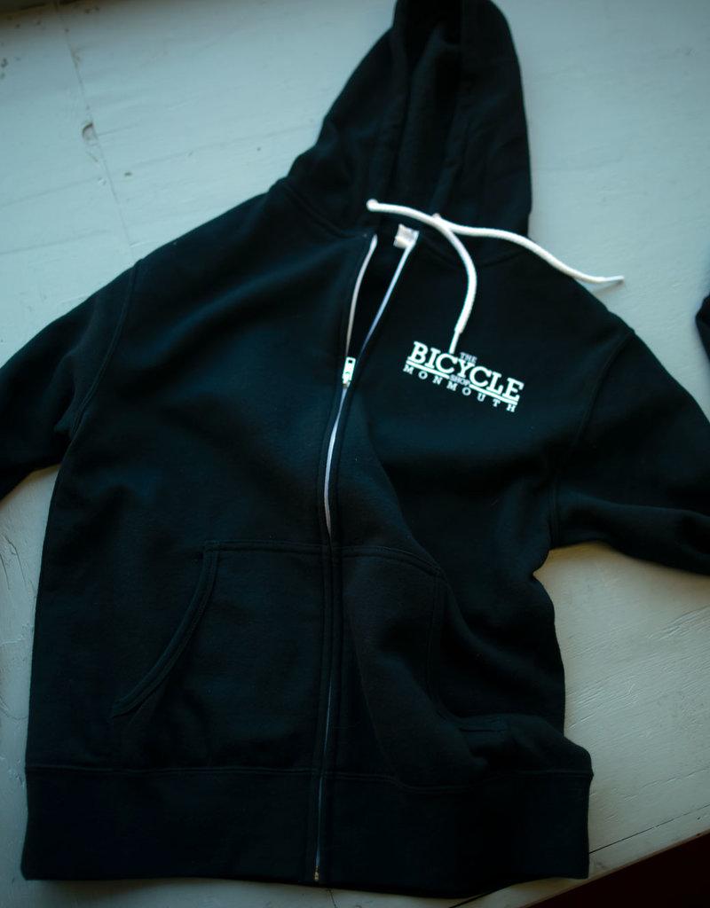 Shop Hoodie LG Zip Black TBSM