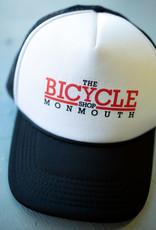 TBSM Shop Foam Trucker Hat Black/2 color logo