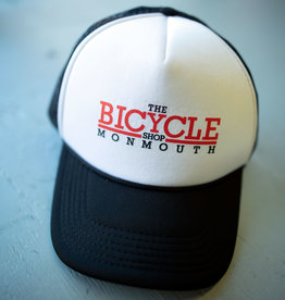TBSM Shop Foam Trucker Hat Black/2 color logo