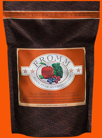Fromm Fromm 4 Star Grain Free Game Bird Recipe Cat Food 5lbs Product Image