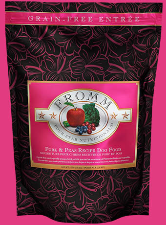 Fromm Fromm 4 Star Grain Free Pork & Peas Recipe Dog Food 12lb Product Image