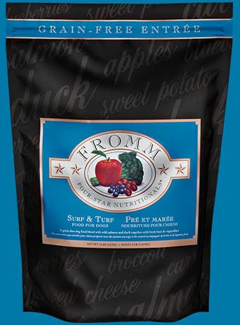Fromm Fromm 4 Star Grain Free Surf & Turf Dog Food 12lbs Product Image