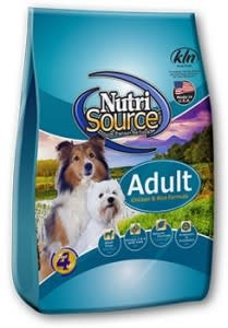 Nutrisource NutriSource Adult Chicken and Rice Dog Dry 15lbs Product Image