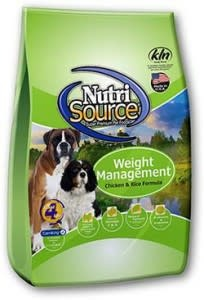 Nutrisource NutriSource Weight Management Chicken & Rice Dog Dry 30 lb Product Image