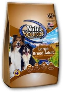 Nutrisource NutriSource Large Breed Lamb Meal and Rice Dog Dry 30 lb Product Image