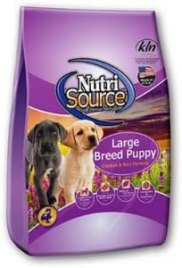 Nutrisource NutriSource Large Breed Puppy Chicken and Rice Dog Dry 15 lb Product Image