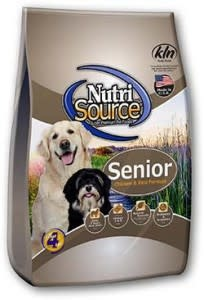 Nutrisource NutriSource Senior Chicken & Rice Dog Dry 5lbs Product Image
