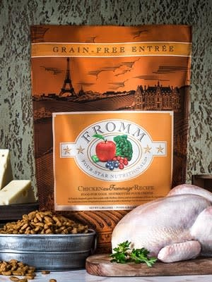Fromm Fromm 4 Star Grain Free Chicken Au Frommage Dog Food 4lbs Product Image