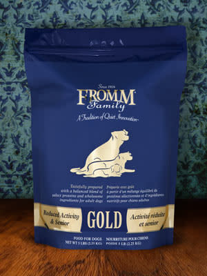 Fromm Fromm Gold Reduced Activity Senior Dog Food 33lbs Product Image