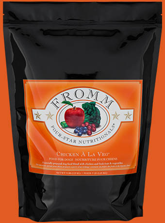 Fromm Fromm 4 Star Chicken A La Veg Dog Food 5lb Product Image