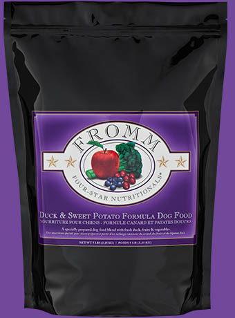 Fromm Fromm 4 Star Duck & Sweet Potato Dog Food 5lbs Product Image