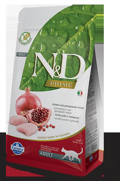 Farmina Farmina N&D Prime Chicken & Pomegranate Cat Dry 3.3lbs Product Image
