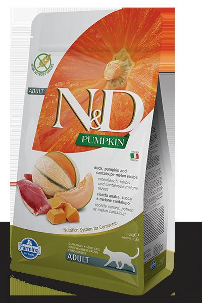 Farmina Farmina N&D Pumpkin Duck & Cantaloupe Cat Dry 3.3lbs Product Image
