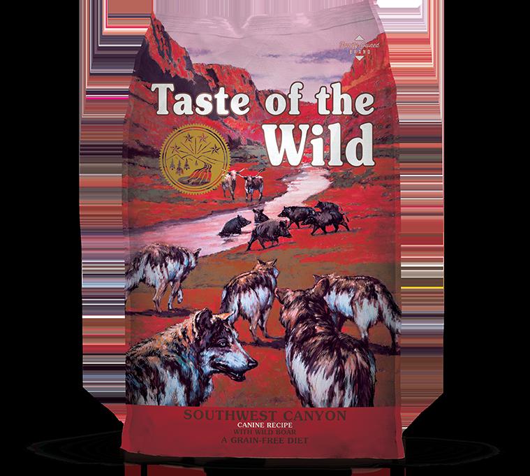 DIAMOND PET FOODS Taste of the Wild Southwest Canyon Dog Food 14lbs Product Image