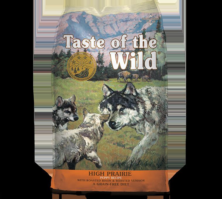 DIAMOND PET FOODS Taste of the Wild High Prairie Puppy 14lbs Product Image