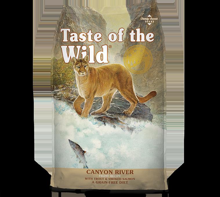 DIAMOND PET FOODS Taste of the Wild Canyon River Feline 14lbs Product Image