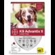 Bayer Healthcare ADVANTIX II Dog Large  21 - 55 lbs. 4pk Product Image