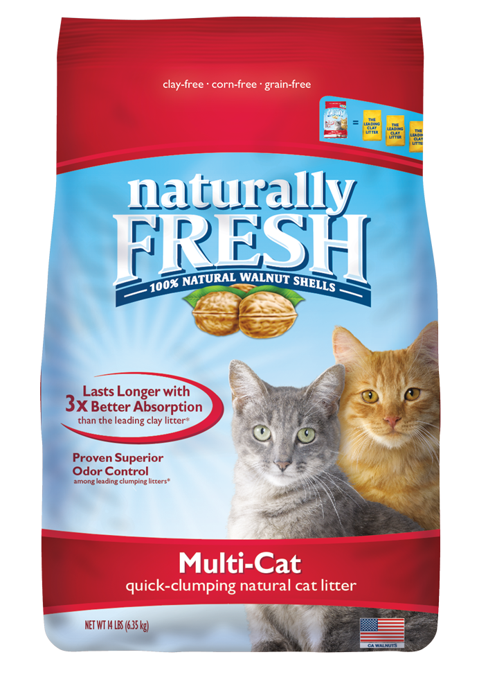 ECO-SHELL, INC. Naturally Fresh Multi Cat Quick Clumping Litter 26lb Product Image