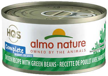 Almo Nature Almo Nature Complete Chicken with Green Beans Cat Can 2.47 oz Product Image