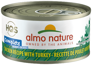 Almo Nature Almo Nature Complete Chicken with Turkey Cat Can 2.47 oz Product Image