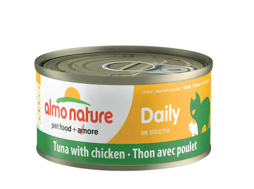 Almo Nature Almo Nature Daily Tuna with Chicken Cat Can 2.47 oz Product Image