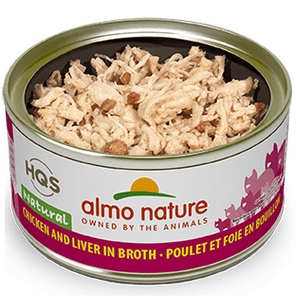 Almo Nature Almo Nature Natural Chicken & Liver Cat Can 2.47 oz Product Image