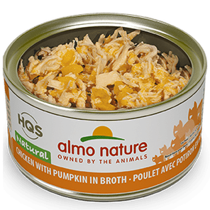 Almo Nature Almo Nature Natural Chicken with Pumpkin Cat Can 2.47 oz Product Image
