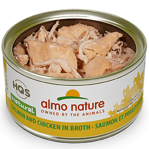 Almo Nature Almo Nature Natural Salmon & Chicken Cat Can 2.47oz Product Image